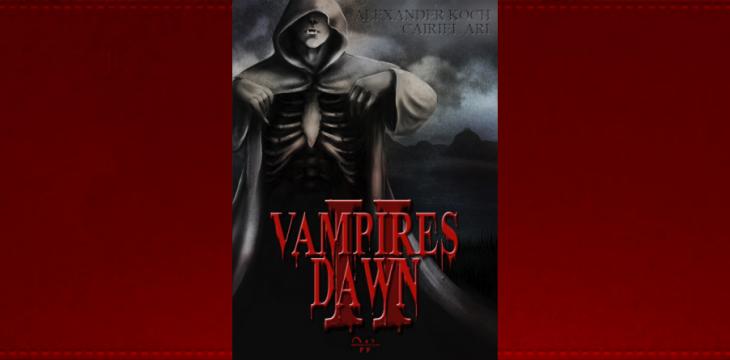 Vampires Dawn 2 Buch – signierte Exemplare