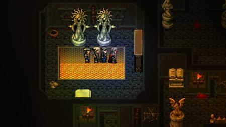 Asgar und seine Truppe ein einem Dungeon